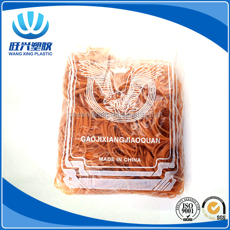wholesale high resistance elastic natural rubber band with eagle opp bag