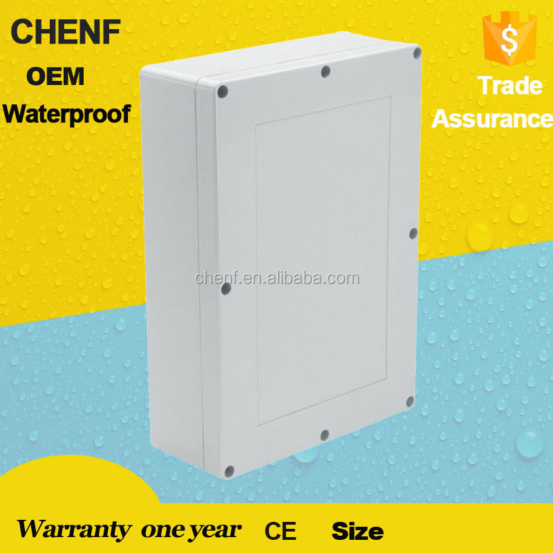 indoor use with solid cover IP65 plastic electrical junction box F11 waterproof enclosure box 380*260*105mm