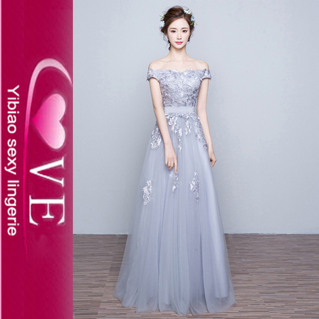 Long Dress Chiffon New Design Long Bridesmaid Dress