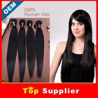 Kbl Wholesale Hair Long Lasting Brazilian Human Hair Sew In Weave Silk Straight Wholesale Price