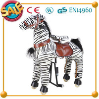 Funny Kids Toy !!!Hot selling kid wood riding rocking horse decoration
