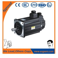 Large radial loading ability electric motor 12v 500w synchronous gear motor China