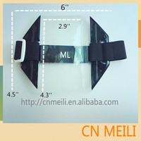 PVC Armband ID Badge Holder