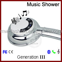 Touch Screened Music & Phone Hand Shower with Bluetooth Connection