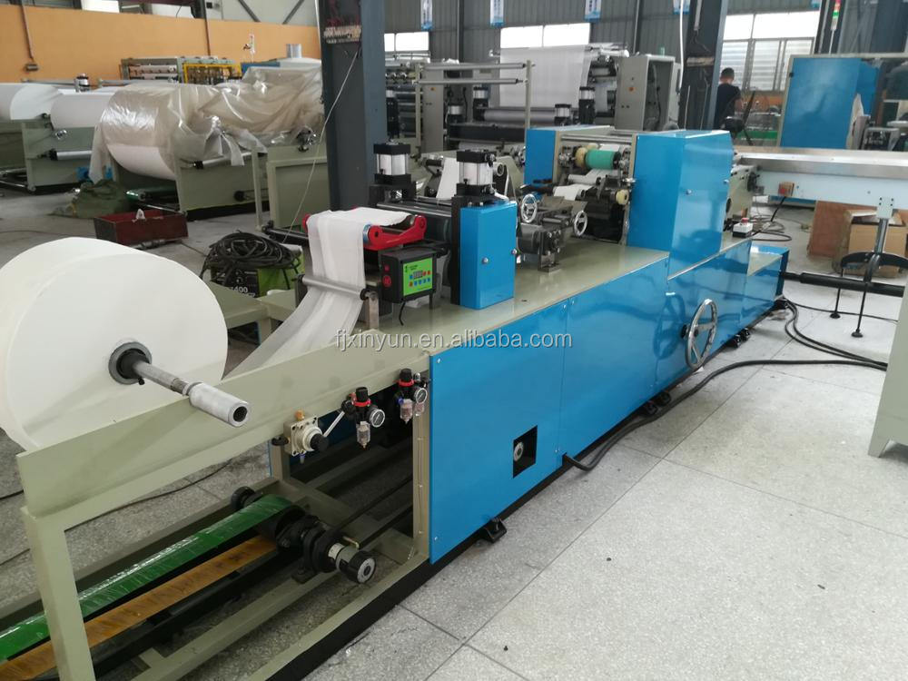 Good price disposable handkerchief paper production line