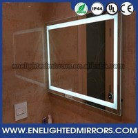 Multifunctional Popular design CE UL Backlit mirror for commercial bathroom made in China