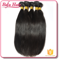 Befa 2016 hot sale tangle free can be dyed and permed 100% Brazilian virgin silky straight hair