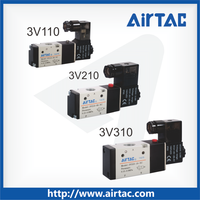 AirTAC 3V 3 port 2 position Pilot-oriented AC/DC single double Solenoid valve