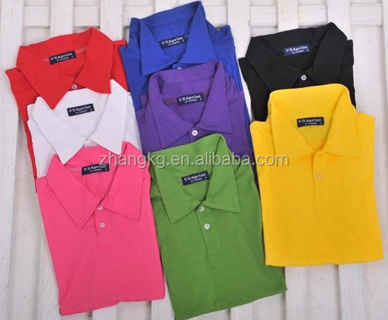 Factory promotional polo shirt for men custom top quality for Quality polo shirts with company logo