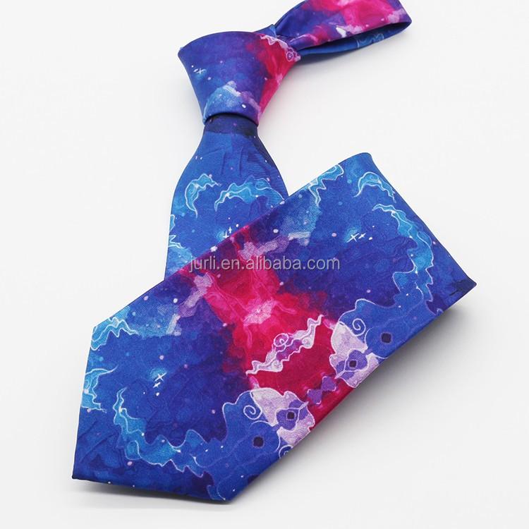 promotion gift mens printed necktie and match scarf set