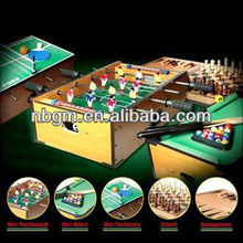5 In 1 Multi Functional Game Table Soccer Pool Chess Backgammon Pingpong