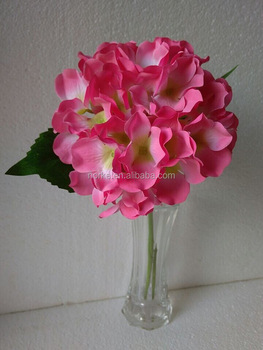 Cheap Artificial Hydrangea Flower Wedding Decoration and Indoor Decoration