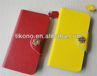 Newest fashional flip leather case for iphone5 accessories