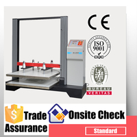 Electric compression strength test machine for package