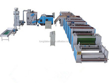 Jute felt nonwoven production line