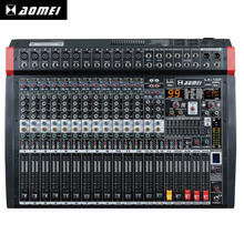 Hight quality LX-16P professional amplifier mixer broadcast karaoke mixing console speakers