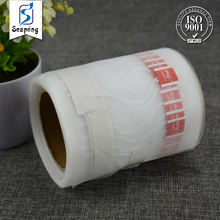 Bulk cheap superior quality nylon mesh filters cloth with label for triangle tea-bags alkaline water tea bag