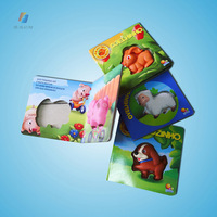 Children sound board book/Story tale sound book for baby Education