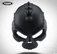2017 cool motorcycle helmet designs with skull skeleton open face helmet motorcycle