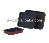 aluminum high-temp coating rectangle baking dish