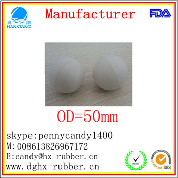 Dongguan manufacturer high bouncy silicone whisky ice ball