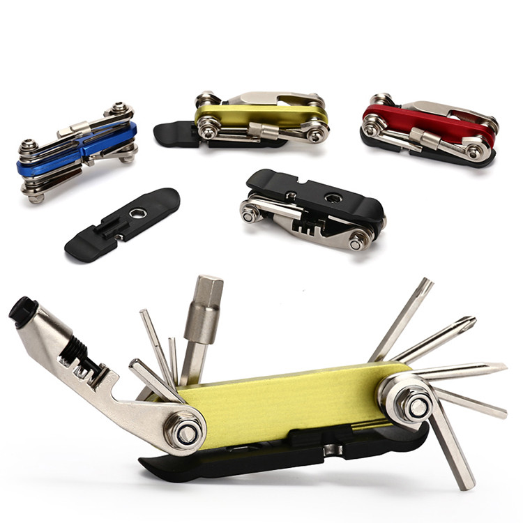 420 Stainless steel metal man pocket outdoor bicycle bike multitool