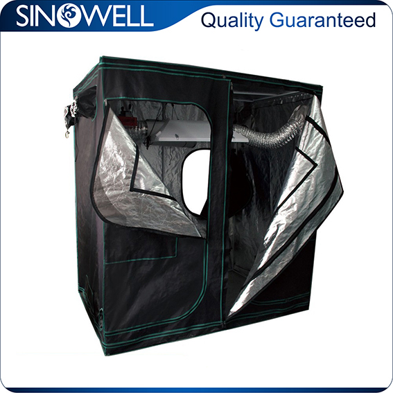 Factory Wholesale Price Quality Assured canvas and mylar material grow tent