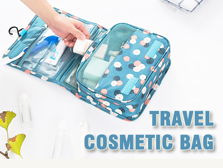 Hanging Toiletry Portable Make up Case Travel Cosmetic Bag