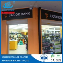 signage grade aluminum composite panel/Wall advertising panel/aluminum veneers