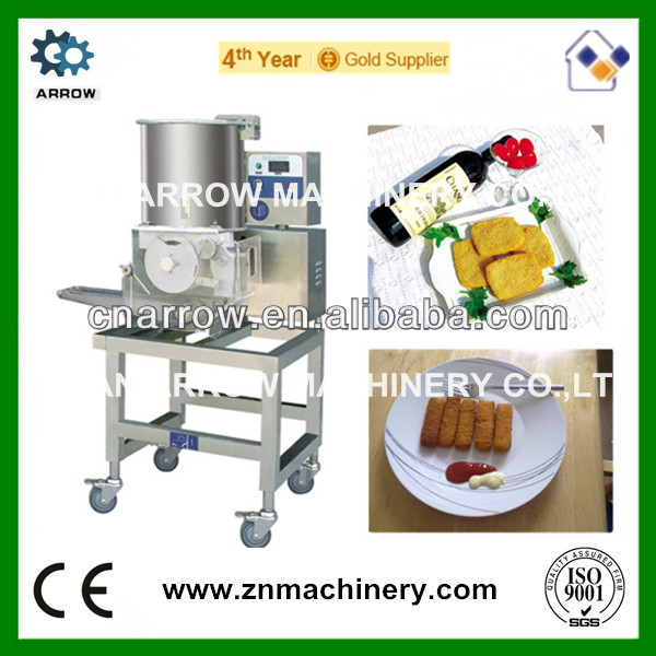 Industrial Automati Fish Meat Burger Patty Forming Machines