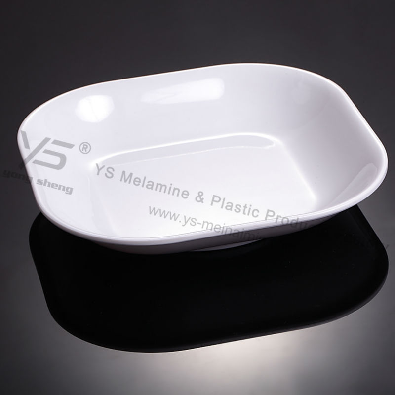 Superior quality unbreakable restaurant mexican imitation ceramic dishes melanin plastic outlet dish