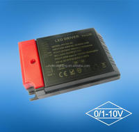 40w 350ma 2 channel constant current 0-10v and PWM led driver, led transformer,led power supply