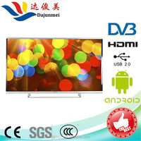 2017 Cheap Flat Screen 32 40 42 50 65 75 inch 4K LED Android Smart TV