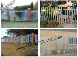palisade fences and gates manufacture