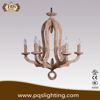 Contryside European wood pendant lamp for decor