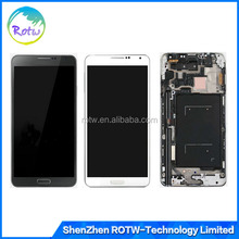 Full LCD Display Touch Digitizer assembly With Frame For Samsung Galaxy Note 3 N9000 N9005 N900A N900T N900P N900V