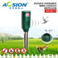 Aosion Automatically PIR Detection Sonic Wave Repel Animal pigeons birds seagulls repeller