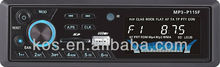 Fixed panel car stereo cassette mp3 player with usb