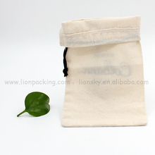 Gorgeous design high quality drawstring cotton pouch bag for book notebook etc
