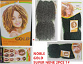noble gold synthetic weave original brand Super NeNe 2pcs cheap good quality weave