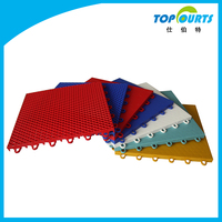 Polypropylene(PP) high quality mobile basketball floor