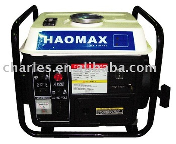 750w gasoline generator with frame