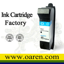 Remanufactured inkjet cartridge 51645 for HP45