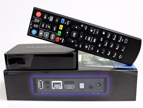 MAG 250 Linux Iptv Set Top Box IPTV MAG250 MAG254 ip tv box linux wifi USB Adapter MAG-260 MAG 254
