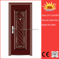 Magetic stainless steel spring door stop exterior