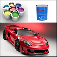 OEM supported automotive metallic paint colors