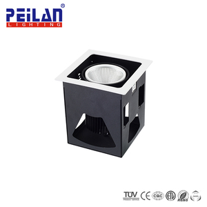 "China Supplier Overall Lighting Solution IP20 COB LED 6"" Downlight 100Mm Cover Driver Chip LED Epistar Ceiling Down Light"