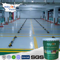 Maydos Hospital and Laboratory Anti Static Self Levelling Epoxy Resin Concrete Flooring Paint