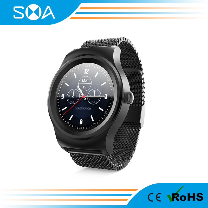 SMA-ROUND hot sale and cheap IPS screen MTK2503 round smart watch