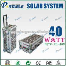 renewable energy products with 40W Solar Panel DC/AC Output